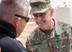 USARCENT commander visits Jordan