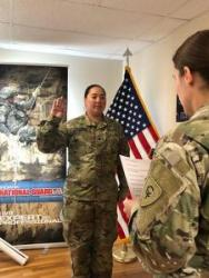 Hoosier National Guard soldiers extends service