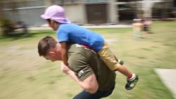 31st MEU Marines give back by volunteering during SMP's Days of Service (B-Roll)