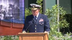 Memorial Day Observance Ceremony at Coast Guard headqarters