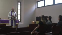 Chaplain provides spiritual guidance to SPMAGTF-CR-AF