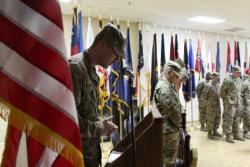 840th Transportation Battalion Change of Command