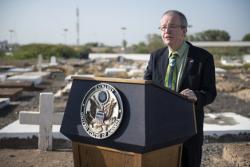 U.S. Embassy Djibouti, multinational military service members gather for Memorial Day