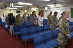 TAMC nurses gain spiritual readiness
