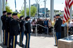 Nevada ANG Soldiers Perform National Anthem at City of Las Vegas National Day of Prayer Ceremony