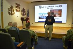 Navy Chief of Chaplains visits SEA class 223