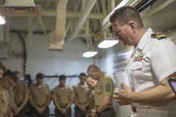 USS Boxer Corporals Course Graduation