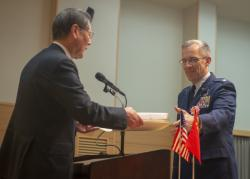 Yokota Airmen recognized in Good Deed Ceremony