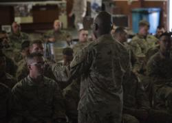 Massachusetts senior National Guard chaplain visits CJTF-HOA, Kenya