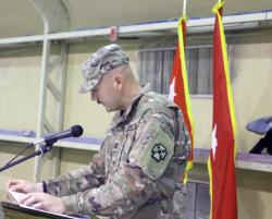 Transfer of Authority for USMH-K
