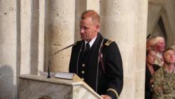 Sainte Mere Eglise Church Sermon
