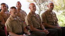 Parris Island Honors Fallen Marine
