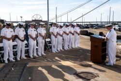 USNS Comfort (T-AH 20) Holds Battle of Midway Ceremony