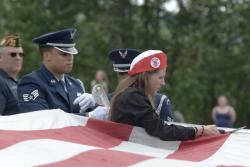 Eagle River VFW holds flag retirement ceremony