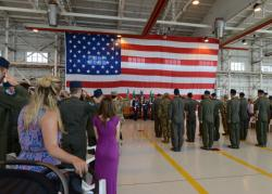 510th FS Change of Command