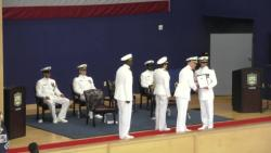 Navy Officer Development School Graduation