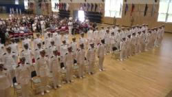 Navy Officer Candidate School Graduation