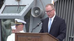 USS John S. McCain Change of Command and 25th Anniversary of Commissioning