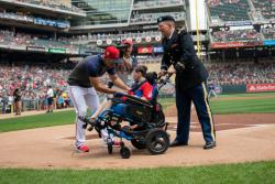 Minnesota Twins Armed Forces Appreciation Day 2019