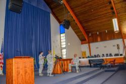 134th Public Affairs Airmen interview chaplains