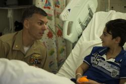 Marines and Sailors with the 31st MEU visit children's hospital in Sydney