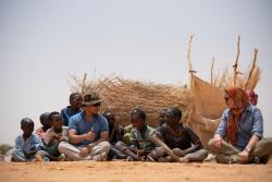 AB201 civil engineers build classrooms for Agadez villages