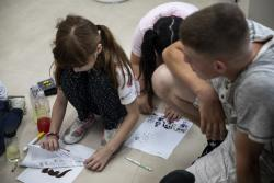Cleaning up the schools | CLB-4 Marines assist an AmerAsian School in Okinawa