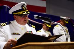 U.S. Coast Guard 13th District change-of-command ceremony